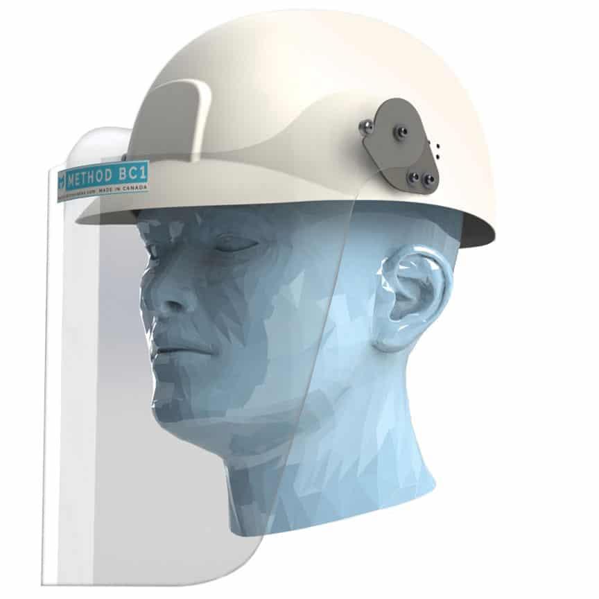 METHOD BC1 Bump Cap Face Shield