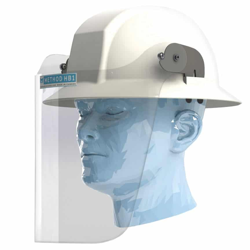 METHOD HH1 Hard Hat Face Shield for Brimmed