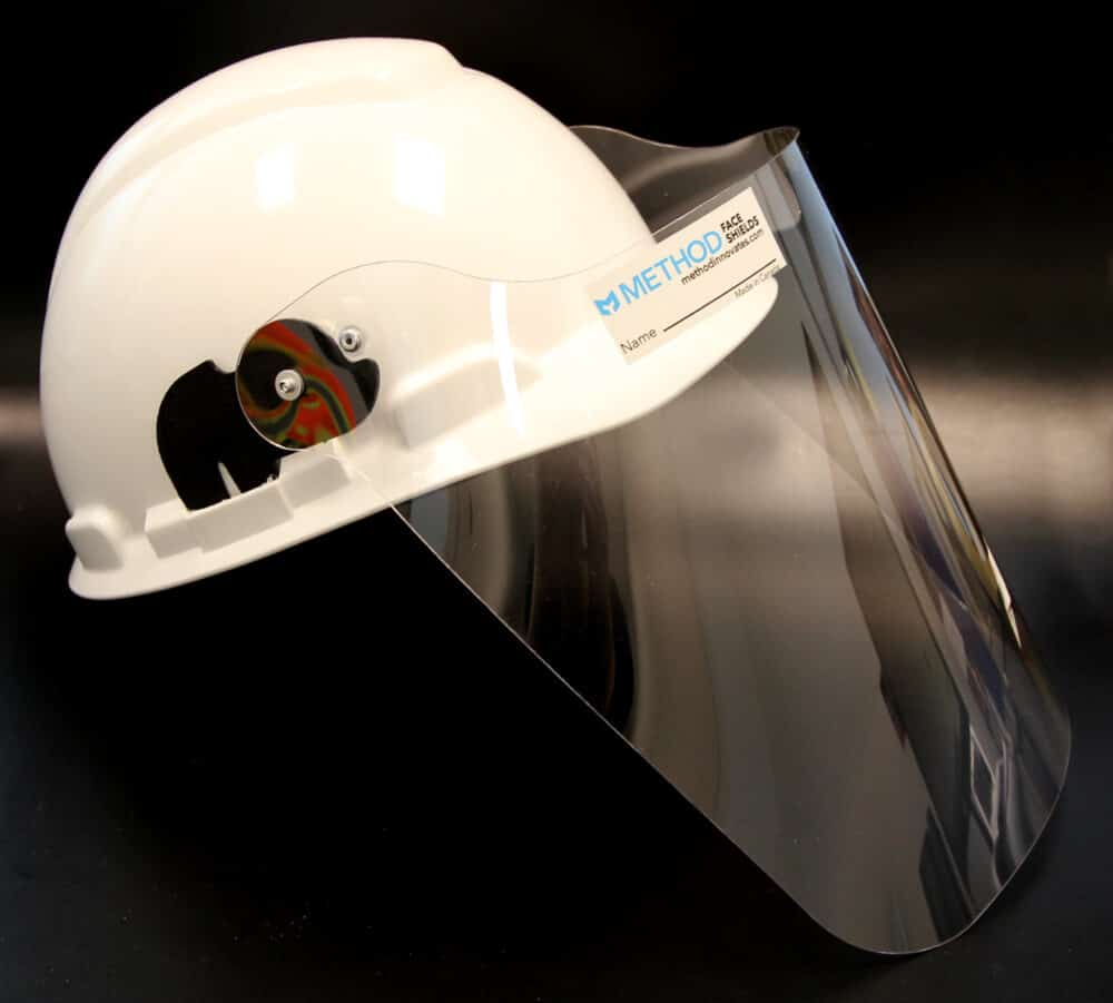 METHOD Hard Hat Face Shield
